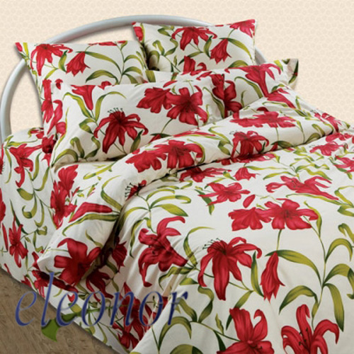 Blanket percale printed - Silk